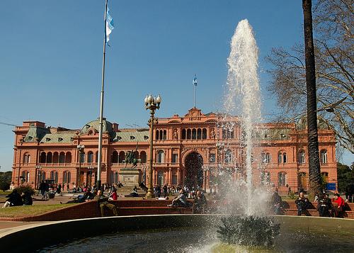 The Casa Rosada