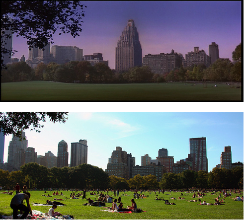 """Central Park West: """"Then"""" and Now"""