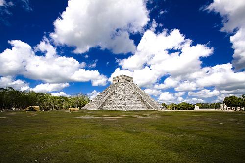 Temple of Kukulkan, Chichen-Itza, Mexico