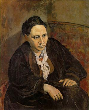 Picasso, Gertrude Stein, 1906