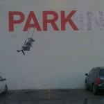 Park(ing) by Banksy