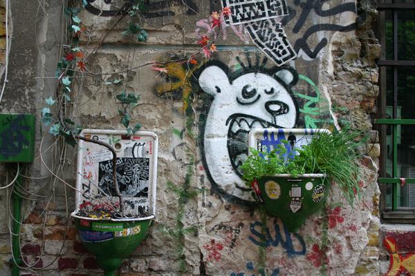 Berlin Street Art, copyright Janine Blechschmidt