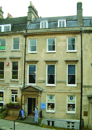 Jane Austen Centre (photo courtesy of visitbath.co.uk Copyright: Bath Tourism Plus)