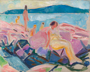 Midsummer, 1915 - courtesy of The Munch Museum