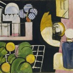 "enri Matisse.  The Moroccans. Issy-les-Moulineaux, late 1915 and fall 1916. Oil on canvas. 71 3/8"" x 9' 2"" (181.3 x 279.4 cm) The Museum of Modern Art, New York, Gift of Mr. and Mrs. Samuel A. Marx copyright 2010 Succession H. Matisse/Artists Rights Society (ARS), New York."