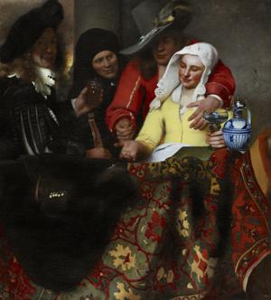 Johannes Vermeer (1632-1675), The Procuress, 1656