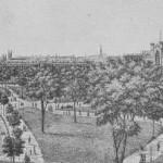 Washington Square Park in the 1880s, via Ephemeral NY