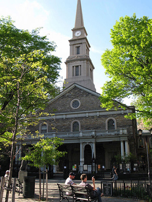 St Mark's Church in-the-Bowery, New York City, photo by: Momos