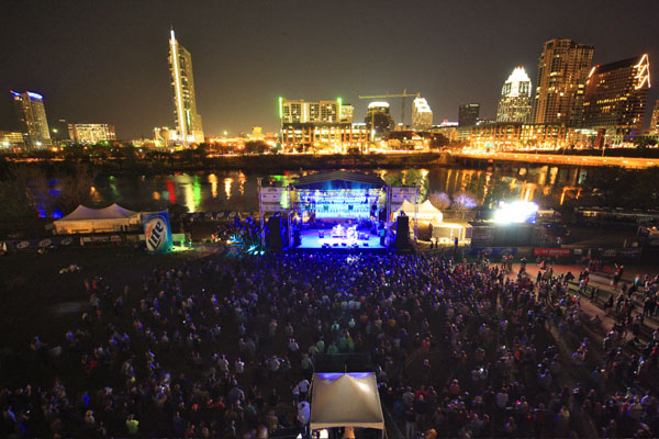 Concert at Auditorium Shores, photo by: SkyHigh Photography