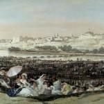La pradera de san Isidro, 1788- Museo del Prado, Madrid