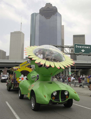 Art Car Parade: The nation's oldest and largest parade dedicated to vehicular art