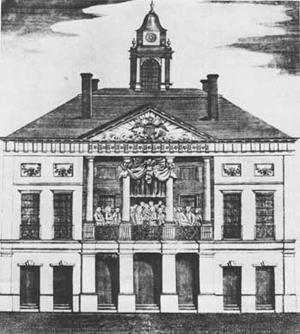 The original Federal Hall