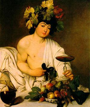 bacchus caravaggio