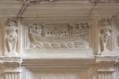Detail from the tomb of Henry Fitzroy