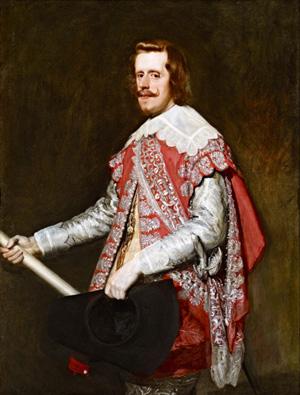 Velázquez's King Philip IV of Spain