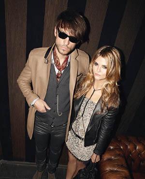 Robert, a photographer, and Gemma, a DJ