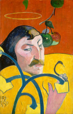 Paul Gauguin Self-Portrait, 1889, Chester Dale Collection