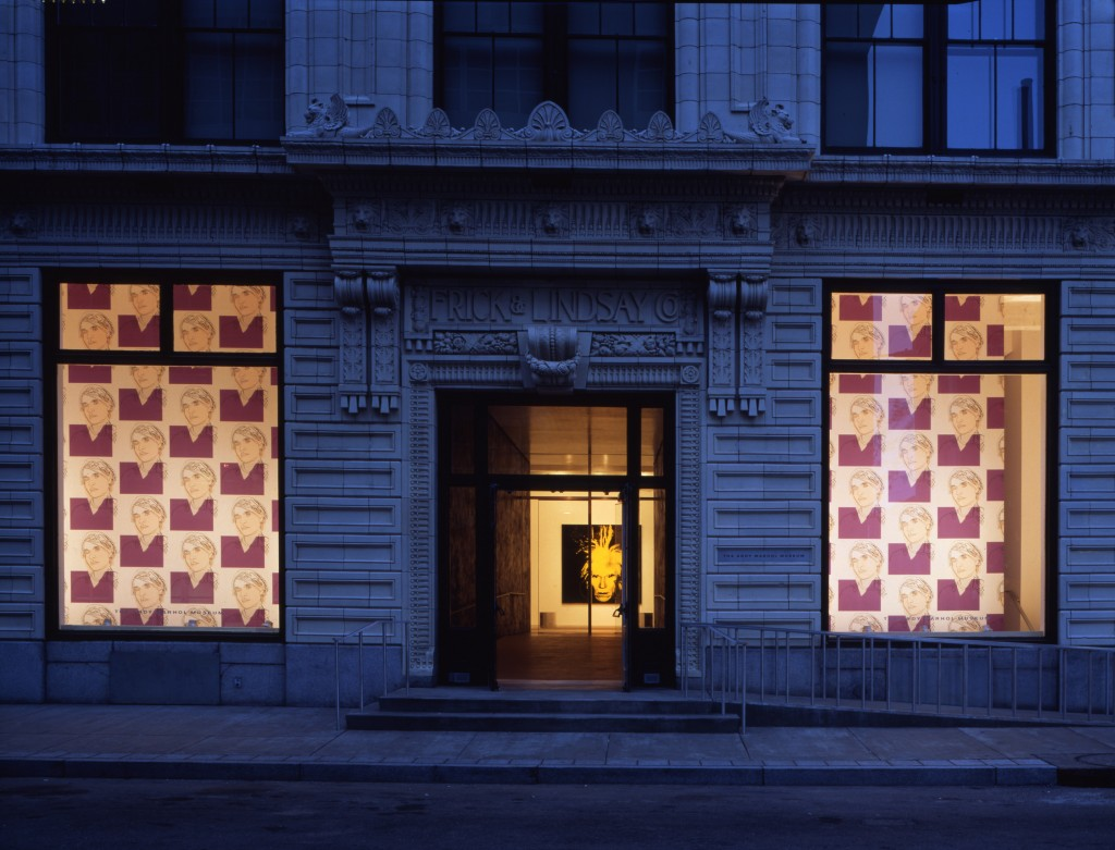 6 - The Andy Warhol Museum, front facade, 1994, photo by Paul Rocheleau, 300 dpi