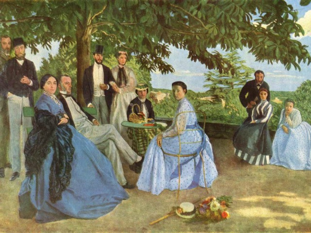 Bazille's Family Reunion, 1867, Musée d'Orsay