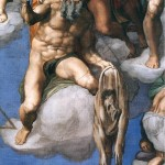 """Last Judgement"" by Michelangelo, Sistine Chapel, Rome"