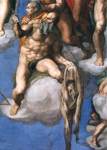 """Last Judgement"" by Michelangelo, Sistine Chapel, Rome"