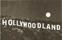 Hollywood sIgn c. 1929s