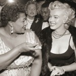 Marilyn and Ella at Mocambo Club, 1955