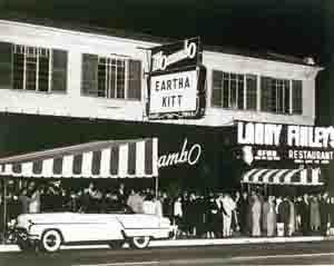 Mocambo Nightclub, 1950s