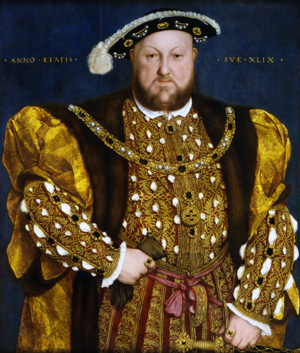 Henry VIII, 1540, Hans Holbein the Younger