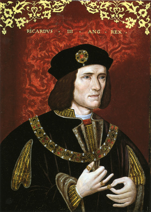 King Richard III, late 16th century, unknown artist, National Portrait Gallery, London