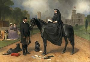Queen Victoria at Osborne, 1865-67, Edwin Landseer