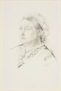 Queen Victoria 1881, Princess Louise, Duchess of Argyll, Royal Collection