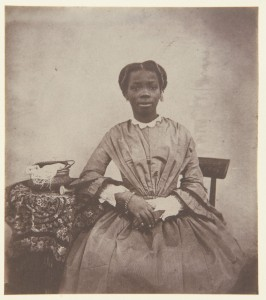 'Sally' (Sarah Forbes Bonetta) aged around 13, from the Royal Collection