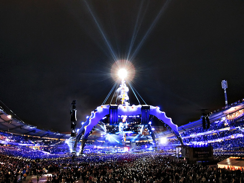 U2's 360° Tour in Ullevi, Sweden