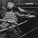 Toshiro Mifune in Akira Kurosawa's 'Throne of Blood'