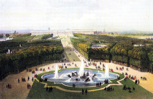 Palace of Versailles, 1860