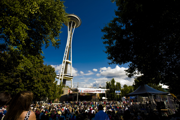 Stage w. Space Needle