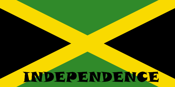 Jamiaca Independence Day Flag