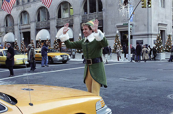 Elf in nyc