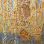 Rouen Cathedral, Facade (Sunset), 1892-1894, Oil on canvas, Musée Marmottan, Paris