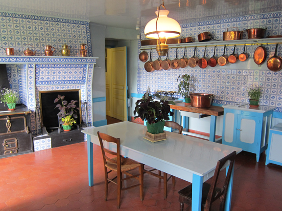 The Kitchen at Giverny