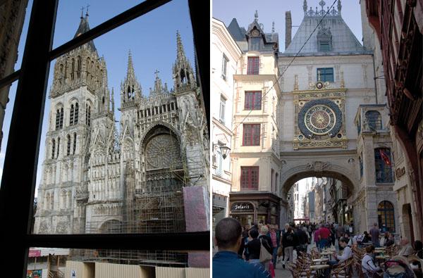 The Cathedral & Gros Hrloge in Rouen